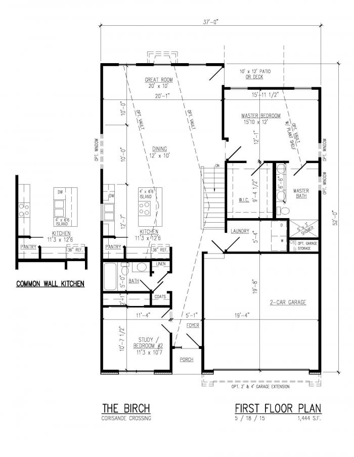 St louis new home builder cf vatterott building new for 110 charles street east floor plan