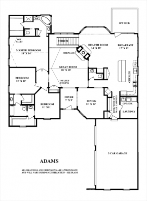 The Adams - First Floor