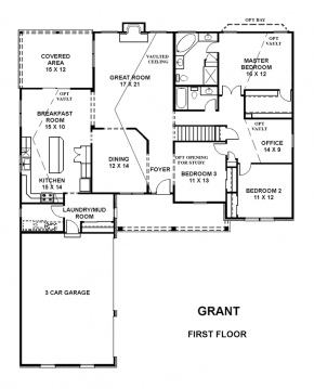 The Grant - First Floor
