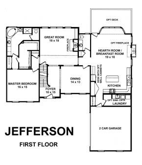 The Jefferson - First Floor