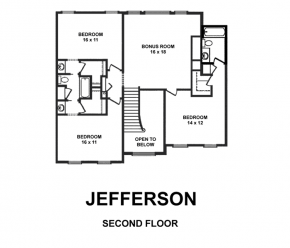 The Jefferson - Second Floor