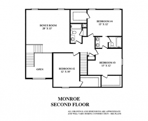 The Monroe - Second Floor