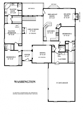 The Washington - First Floor