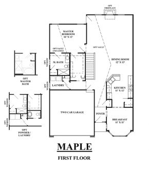 The Maple - First Floor