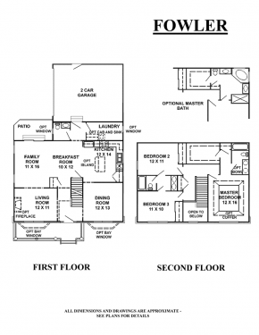The Fowler - Floorplan