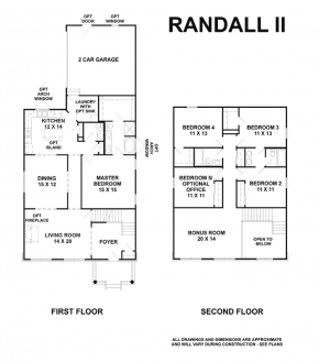 The Randal II - Floorplan