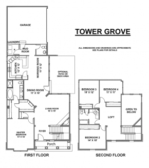 The Tower Grove - Floorplan