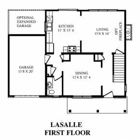 The LaSalle - First Floor