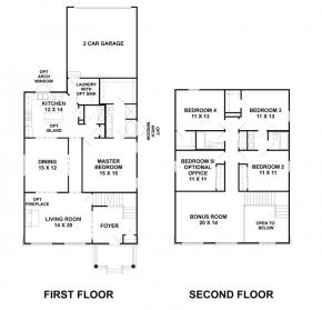 The Eads II - Floorplan
