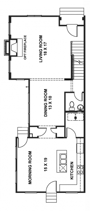 The Newport - End Unit - First Floor