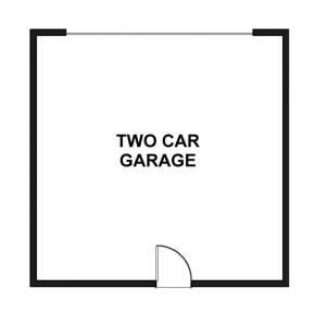 The Mansion - Middle Unit - Garage