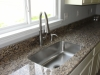 Large single bowl undermount sink