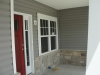 Upgraded Front door & Craftsman windows!
