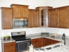 Deluxe Kitchen w/granite counters, bronze hardware